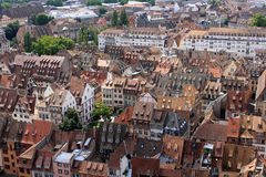 View of Strasbourg, Alsace, France Royalty Free Stock Photography
