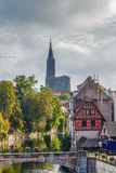 View of Strasbourg Cathedral Royalty Free Stock Photo