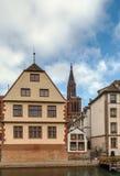 View of Strasbourg Royalty Free Stock Photos