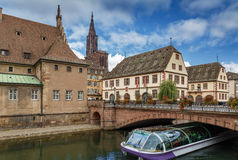 View of Strasbourg Royalty Free Stock Photography