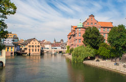 View of Strasbourg city center Royalty Free Stock Image