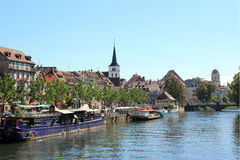 View of Strasbourg Royalty Free Stock Image