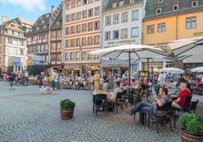 View of Strasbourg - France Royalty Free Stock Photo
