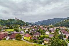 View of Strassburg, Austria Stock Photo