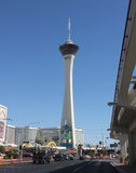 A View of the Stratosphere Hotel Stock Photography