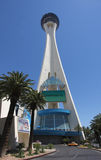 A View of the Stratosphere Hotel and Casino Royalty Free Stock Image