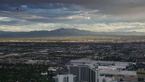 View from the Stratosphere Tower in Las Vegas, Nevada Stock Photos