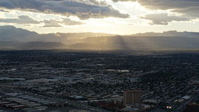 View from the Stratosphere Tower in Las Vegas, Nevada Royalty Free Stock Photography
