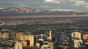 View from the Stratosphere Tower in Las Vegas, Nevada Stock Photography