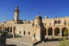 View of a Street as Seen From the Temple Mount Stock Photography