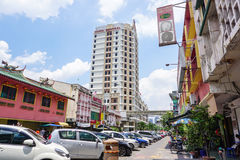 View of the street in Chinatown, Kuala Lumpur Stock Photos