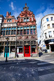 View of street in Ghent, Flemish region, Belgium Stock Photography