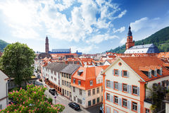 View of the street in Heidelberg, Germany Stock Photos