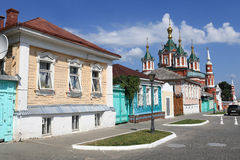 View of street in Kolomna Kremlin Stock Photos