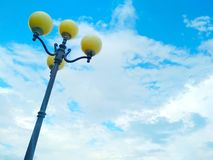 Street light, architectural decision royalty free stock image