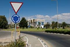 View of street, Limassol, Cyprus Stock Image