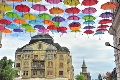 View of the street of Timisoara, Romania Stock Image