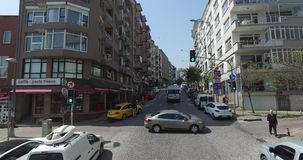 View the streets of Istanbul stock footage