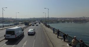 View the streets of Istanbul stock video footage
