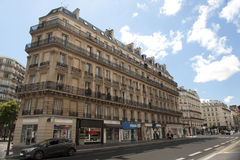 View on Streets of Paris Royalty Free Stock Photography