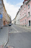 View of the streets of Warsaw. Stock Image