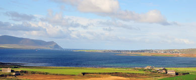View of Stromness. Royalty Free Stock Images