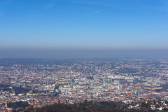 View of Stuttgart in Germany Royalty Free Stock Photography