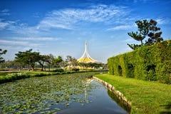 View of Suan Luang Rama 9 public park Royalty Free Stock Photos