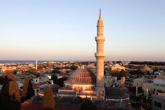 View of Suleiman Mosque Stock Photos