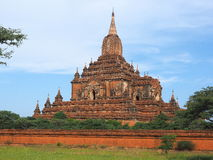 View of the Sulemani temple in Myanmar Royalty Free Stock Images
