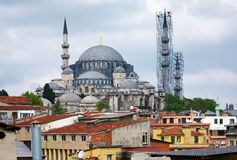 View of Suleymaniye Mosque, Istanbul Stock Photo