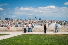 View from Suleymaniye mosque Royalty Free Stock Photo