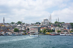 View on the Suleymaniye Mosque Stock Photos