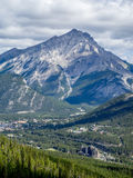 View from Sulphur Mountain Stock Photography