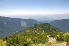 View from summer mountains - West Tatras, Slovakia, Europe Stock Photos