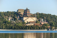 View of Summer Palace Royalty Free Stock Images