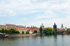View on summer Prague Royalty Free Stock Photos