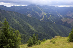 View on the summer Slovakia Mountains Low Tatras Stock Images