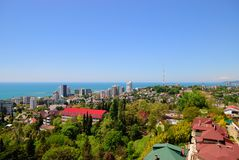 View of the summer Sochi Stock Photo