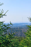 View from the summit of the Brocken Stock Image