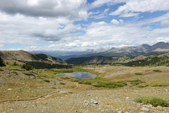 View at The Summit of Cottonwood Pass Royalty Free Stock Photo