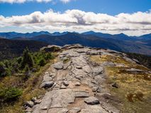 Adirondack Mountain Summit Royalty Free Stock Photos