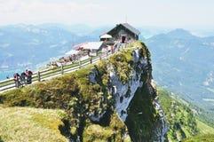Mount Schafberg, Austria stock photography