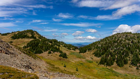 A view from the Summit of Tod Mountain Royalty Free Stock Image