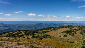 A view from the Summit of Tod Mountain Royalty Free Stock Photography