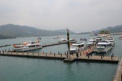View of Sun Moon Lake in Taiwan Stock Image
