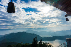 View of Sun Moon Lake Stock Photography