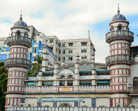 View of Sunni Mosque in Yangon Stock Image