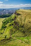 View of sunny Edinburgh Royalty Free Stock Photos