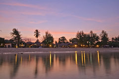 View of Sunrise Beach at Koh Lipe, Thailand Stock Photography